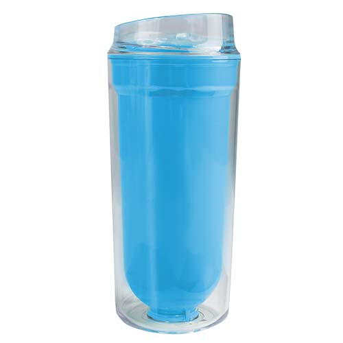 VASO LOGAM COLOR AZUL